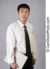 Chinese male workplace