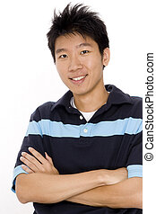 Chinese Man - A young and handsome chinese man in his 20s