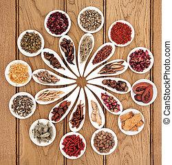 Chinese Medicine Sampler - Large chinese herbal medicine ...