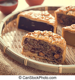 Chinese mid autumn festival foods