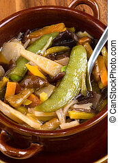Chinese mixed vegetables.