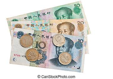 Chinese money.