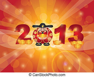 Chinese New Year 2013 Money God - Chinese Lunar New Year ...