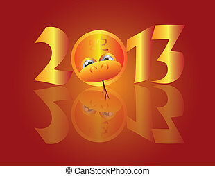 Chinese New Year 2013 Snake Circle