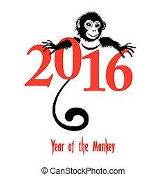 Chinese new year 2016 (Monkey year) - The year of monkey...