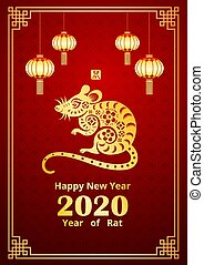 chinese new year 2020 3 - Happy Chinese new year 2020 card ...