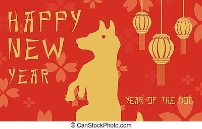 Chinese new year background style