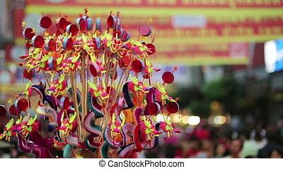chinese new year celebration, bangkok, thailand - BANGKOK,...