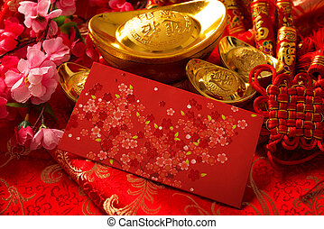 Chinese new year concept - Chinese new year festival ...