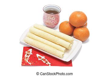 Chinese New Year Foods and Drink