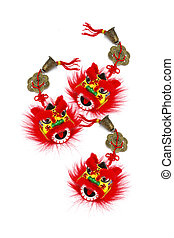 Chinese New Year Lion Heads