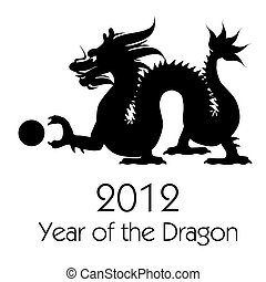 Chinese New Year of the Dragon 2012 Clip Art - Chinese New...