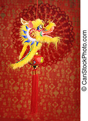 Chinese New Year Ornaments--Traditio nal Dancing Dragon