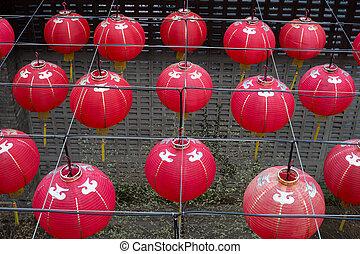 Chinese New Year Red Lanterns
