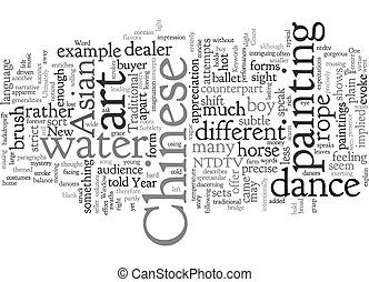Chinese New Year Show Opens Window on Asian Subtlety text background wordcloud concept