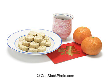 Chinese New Year Snack and Drink