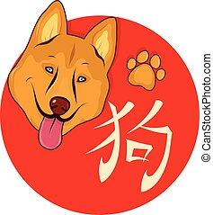 Chinese New Year symbol Dog