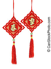 Chinese new year traditional ornaments