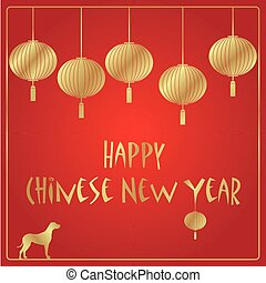Chinese New Year vector background