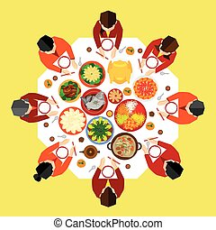 Chinese New Year Vector Design - Chinese New Year Reunion...
