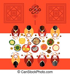 Chinese New Year Vector Design