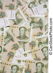 Chinese notes - Collection of the chinese banknotes