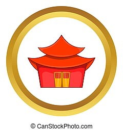 Chinese pagoda  icon