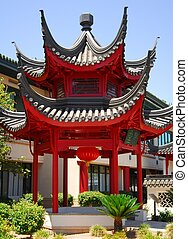 Chinese Pavilion - Brilliant and stylized Chinese pavilion