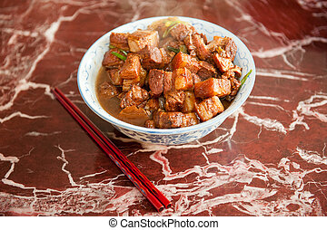 Chinese pork dish