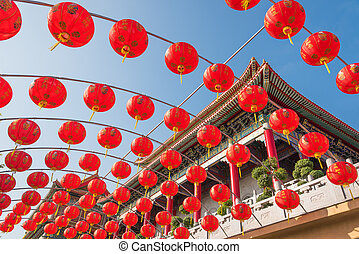 Chinese red lanterns