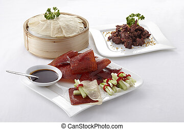 Chinese roasted duck