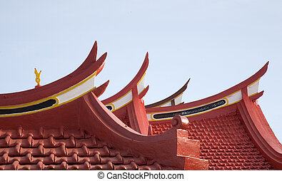 Chinese roof 1