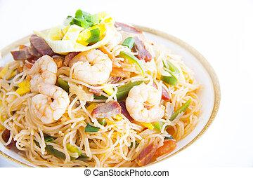 (chinese, ryż, wermiszel, noodle)