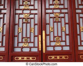 Chinese screen door
