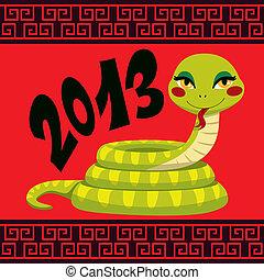 Chinese Snake Year