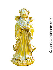chinese statue at the temple