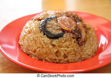 Chinese sticky rice - Glutinous sticky rice dimsum ...