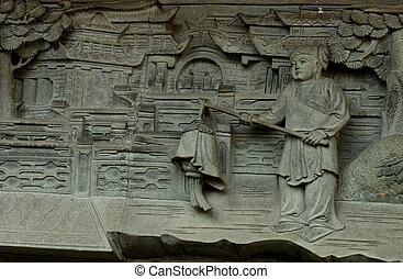 Chinese stone carving