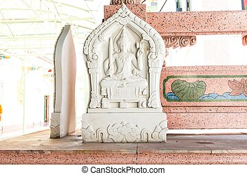 Chinese stone carving budda symbo