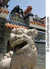 Chinese Stone Dragon at Tin Hau Temple - Cheung Chau - Hong Kong