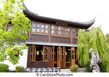 Chinese style building