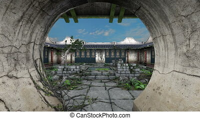 Chinese style garden - image of Chinese style garden