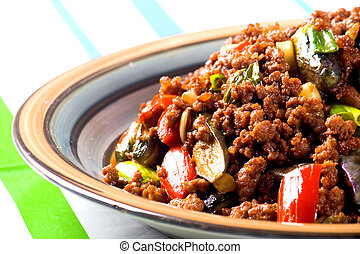 chinese style mince