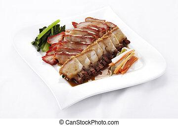 Chinese style roasted pork