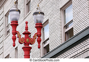 Chinese style street lamps