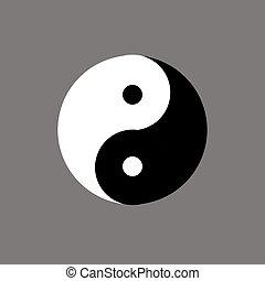 Chinese symbol of yin-yang