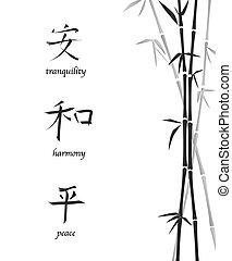 Chinese symbols1 - A vector illustration of Chinese symbols ...