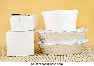 chinese takeout - chinese food delivery or takeout aluminum ...