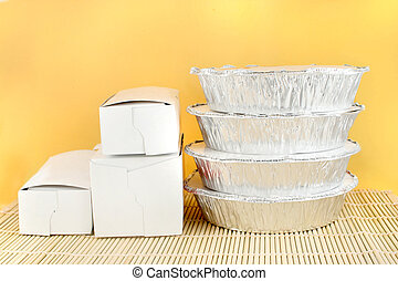 chinese takeout - chinese food delivery or takeout aluminum...