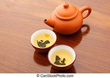Chinese tea beverage